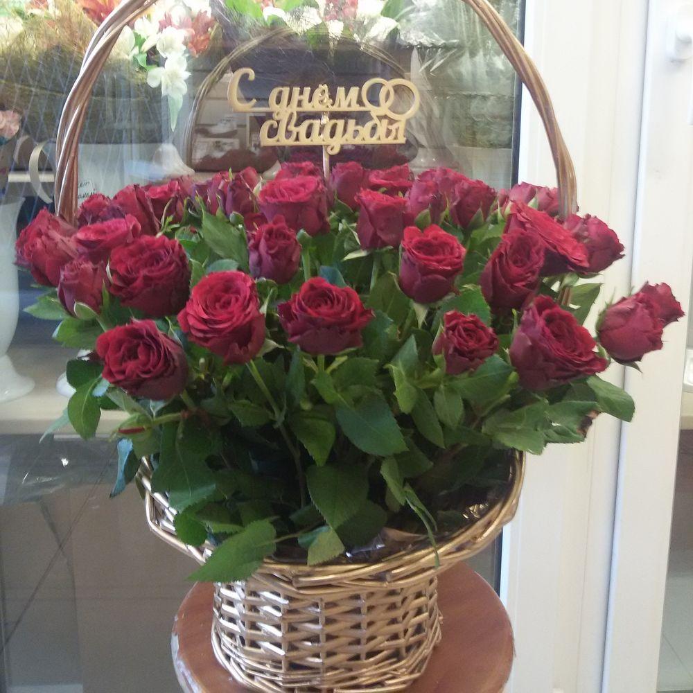 Красивые букеты красная роза свадебный букет невесты
